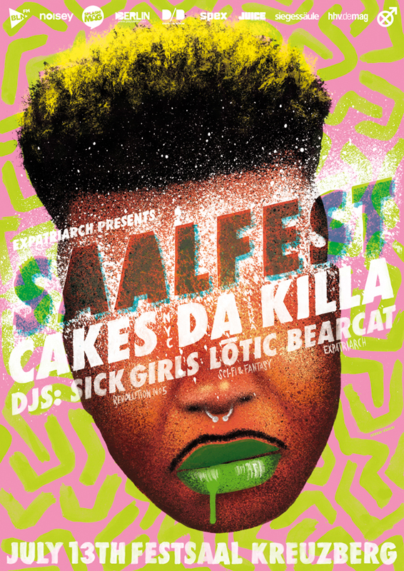 Saalfest Featuring Cakes Da Killa
